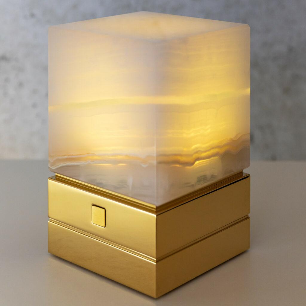 Onyx Designer Lamp ITSU One yellow